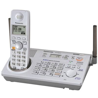 KX-TG5771S 5.8 GHz FHSS GigaRange. Expandable Digital Cordless Answering System