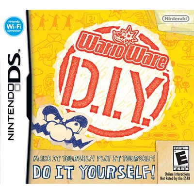 DSi WarioWare D.I.Y.