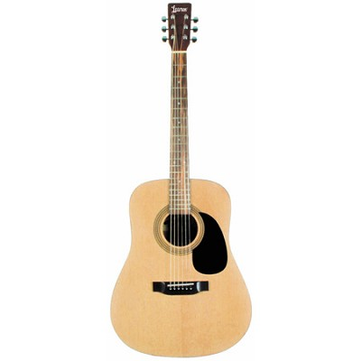 LA125N Satin Finish Dreadnought Acoustic Guitar - Natural - OPEN BOX