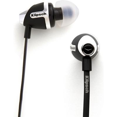IMAGE S4 II In-Ear Enhanced Bass Noise-Isolating Headphone, Black