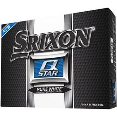 Q-Star Pure White Golf Balls - 12 Pack