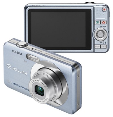 Exilim EX-Z80 8.1MP Digital Camera with 2.6` LCD (Blue)