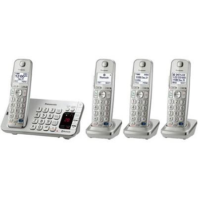 KX-TGE274S DECT 6.0 Link2Cell Bluetooth Cellular Conv Handsets REFURBISHED