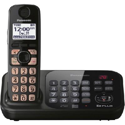 KX-TG4741B Dect 6.0 1-Handset Landline Telephone
