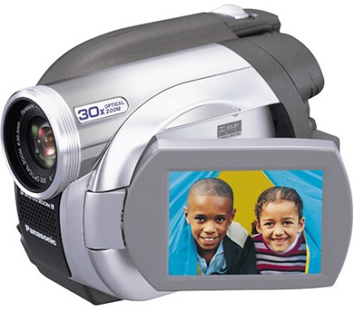VDR-D200 DVD Camcorder With 30x Optical Zoom, 2.5` LCD Screen & SD Card Slot