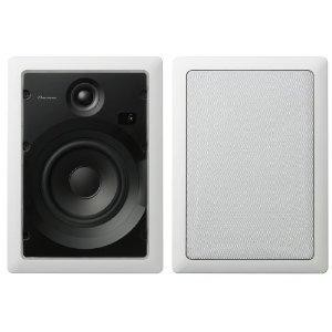 S-IW631-LR Custom Series 6.5-Inch Rectangular In-Wall Speakers (Pair)