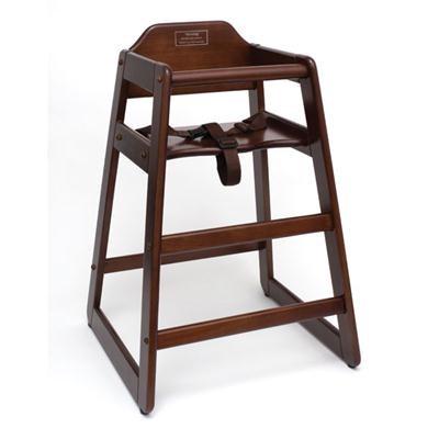 Child's High Chair Walnut