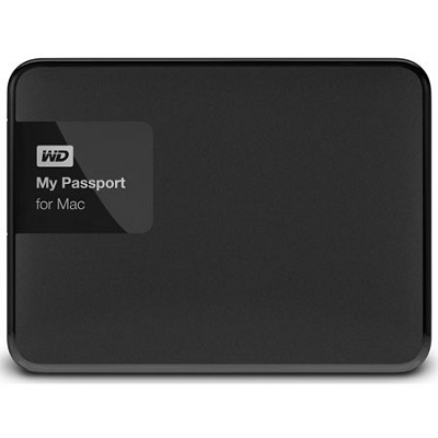 My Passport for Mac 3 TB USB 3.0 Secure Portable Drive with Auto Backup