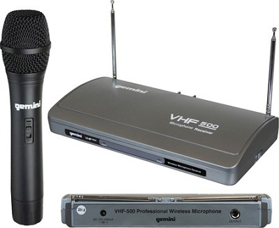 VHF-500 Single Channel Wireless System
