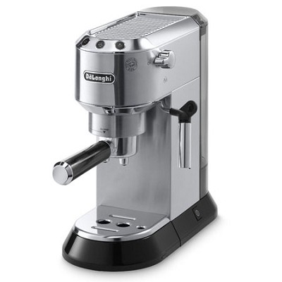 Dedica Stainless Steel Pump Espresso/Cappucino Maker - EC680M