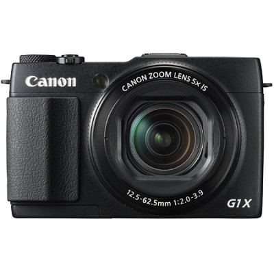 PowerShot G1 X Mark II 12.8MP HD 1080p Digital Camera