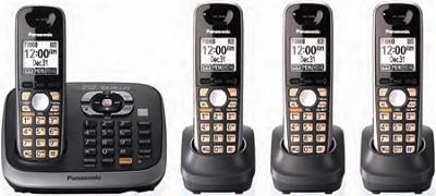 KX-TG6544B DECT 6.0 Plus Expandable Digital Cordless Answering System