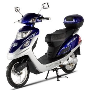 Electric XB-502 Electric Bicycle (Moped Motorcycle Scooter)
