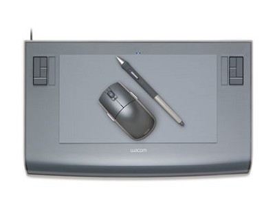 Intuos3 6x11 Wide Tablet w/Pen, Mouse and Software