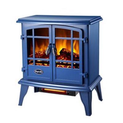 Comfort Glow Keystone Quartz Electric Stove in Blue - EQS133