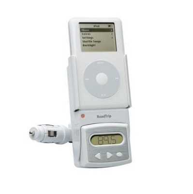 RoadTrip FM Transmitter And Charger For iPod And iPod Mini