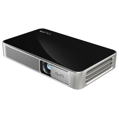 Qumi Q3 Plus 500 Lumen Ultra HD 720p Pocket DLP Projector with Wi-Fi (Black)