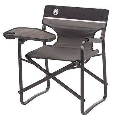 Portable Deck Chair with Swivel Table - 2000020295