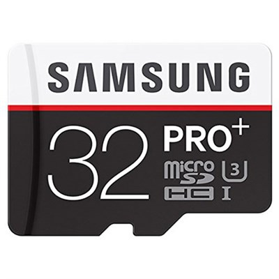 Pro Plus 32GB MicroSDHC Memory Card --- 95MB/s Read, 90MB/s Write