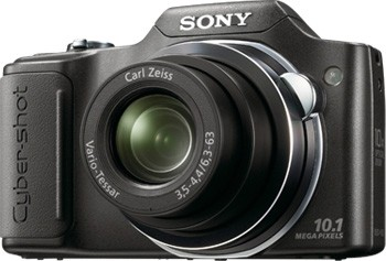 Cyber-shot DSC-H20/B 10.1 MP Digital Camera w/ 3.0` LCD (Black)**OPEN BOX**