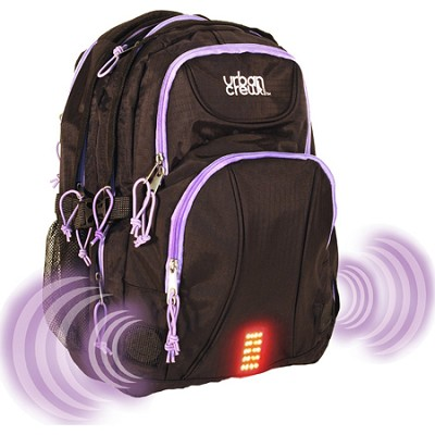 Urban Crew Laptop Backpack - Purple/Black