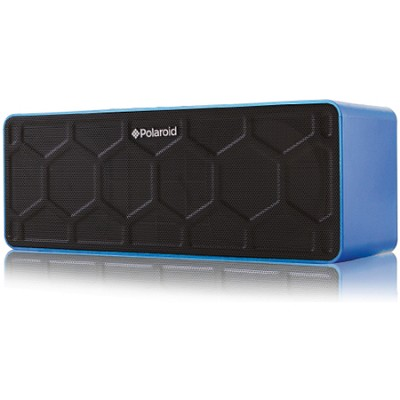 PBT555 Portable Bluetooth Speaker with Built-In Microphone - Blue