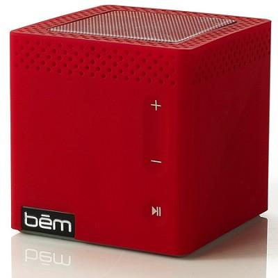 Bluetooth Mobile Speaker for Smartphones Red Manufacturer Refurbished
