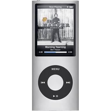 iPod Nano 4th Generation 16GB MP3 Player - Silver