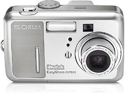 EASYSHARE CX-7530 ZOOM DIGITAL CAMERA