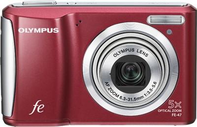 FE-47 14MP 2.7` LCD Digital Camera (Red)