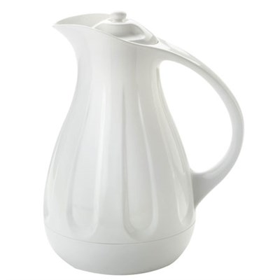 Simplify 1 Quart Carafe, White