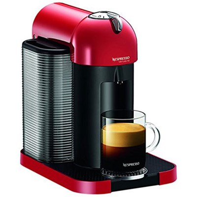 VertuoLine Coffee and Espresso Maker (Red) - OPEN BOX