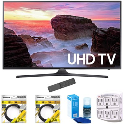 55` 4K Ultra HD Smart LED TV 2017 Model with Cleaning Bundle