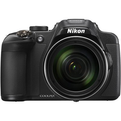 COOLPIX P610 16MP 60x Super Zoom Digital Camera Full HD Video, WiFi, GPS - Black