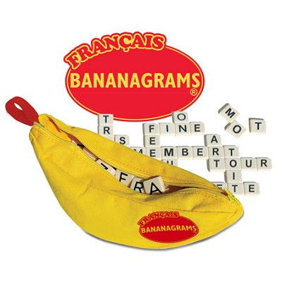 French Bananagrams Word Game - FBN001