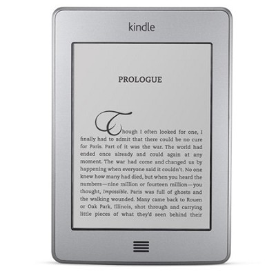 Kindle Touch 3G Free 3G + Wi-Fi, 6` E Ink Display, 3G Works Globally