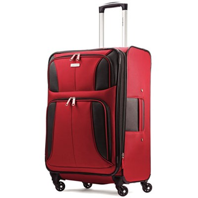 Aspire XLite 25` Expandable Soft-Side Spinner Luggage (Red) 74570-1726