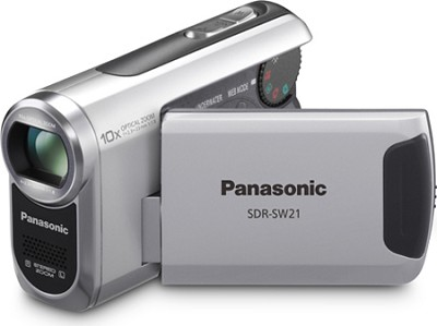SDR-SW21S TOUGH SD Camcorder with 10X Zoom (Silver)