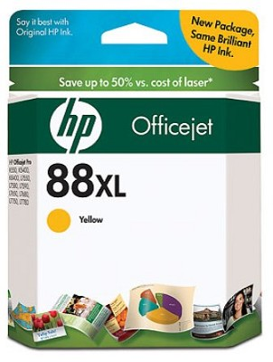 88 Yellow XL OfficeJet Ink Cartridge - 1700 pages