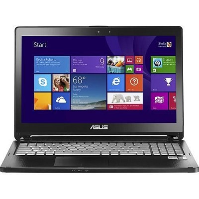 2-in-1 15.6` Touch-Screen Intel Core i5-4210U Black Notebook