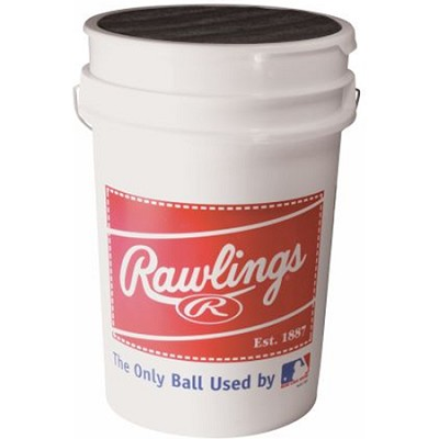 ROLB1X Practice Baseballs in Bucket (3 Dozen)
