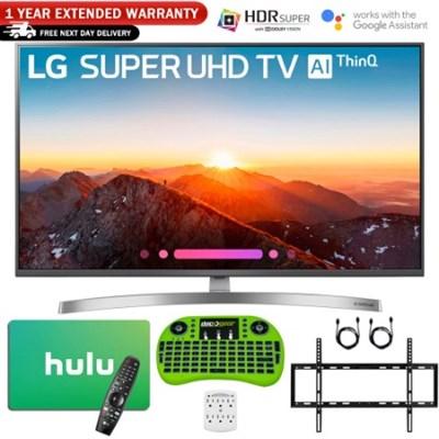 49`-Class 4K HDR Smart LED AI SUPER UHD TV w/ Warranty + Netflix Bundle