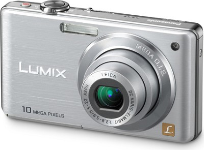 DMC-FS8S LUMIX 10.1 MP Compact Digital Camera w/ 4x Optical Zoom (Silver)