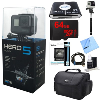 HERO5 Black Edition Action Camera Ready For Adventure Kit