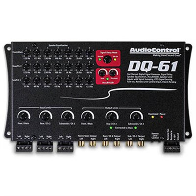 DQ-61 Six Channel Line Out Converter with Signal Delay & EQ - OPEN BOX