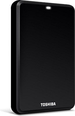 Canvio 500GB Portable Hard Drive in Black