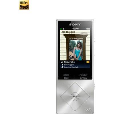 NWZ-A17 64GB High-Resolution Portable Digital Music Player MP3 - Silver