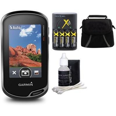 Oregon 750 Handheld GPS with Built-In Wi-Fi, Camera & Bluetooth Bundle