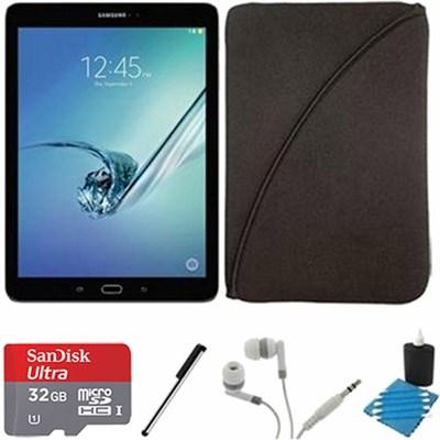 Galaxy Tab S2 9.7-inch Wi-Fi Tablet (Black/32GB) 32GB MicroSDHC Card Bundle
