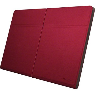 SGPCV4/R Red Stylish Casual Cover for Xperia Tablet S